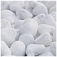 Ciottoli bianchi di carrara pavimenti rivestimenti for Ciottoli bianchi